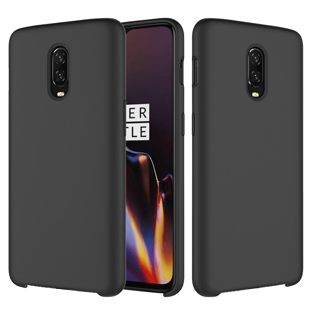 Asuwish Original Silicone Case for OnePlus 6T Smooth Gel Rubber Phone Cover for One Plus 6T 1+6T 6.4