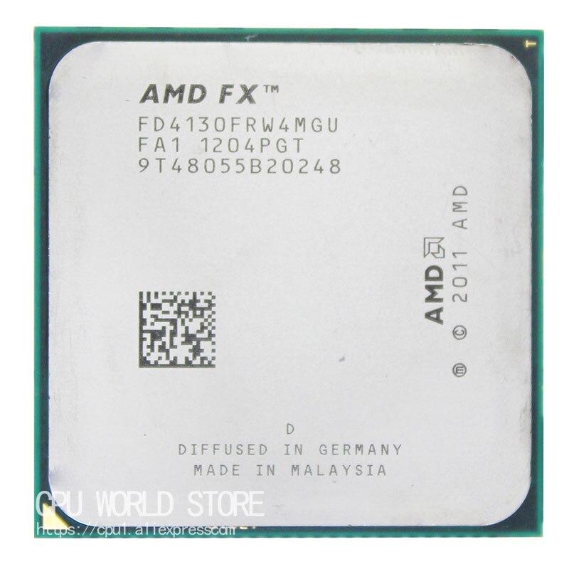 AMD FX 4130 AM3 + 3.8GHz/4MB/125W رباعية النواة وحدة المعالجة المركزية المعالج FX المسلسل قطع FX-4130 بيع fx 4130 4200