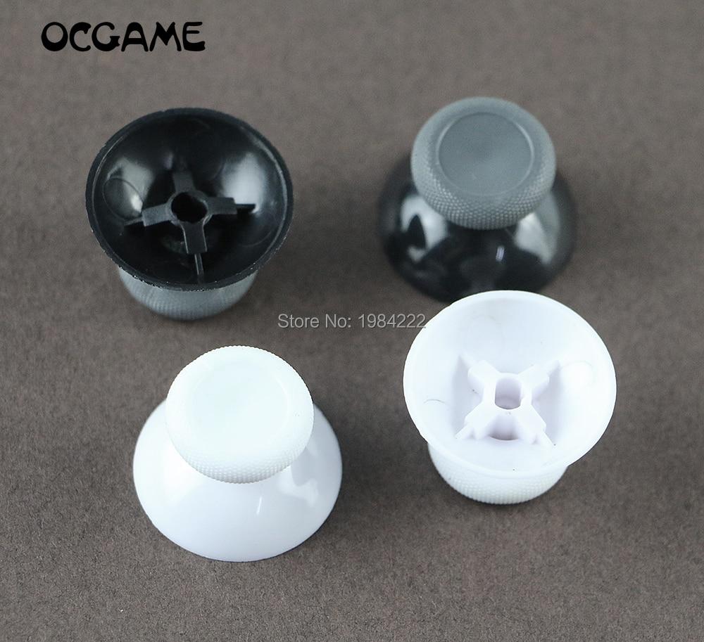 OCGAME 10 unids/lote blanco y negro analógicas palo joysticks Joystick de cabeza de hongo basculante agarre para XBOX one s XBOX one slim