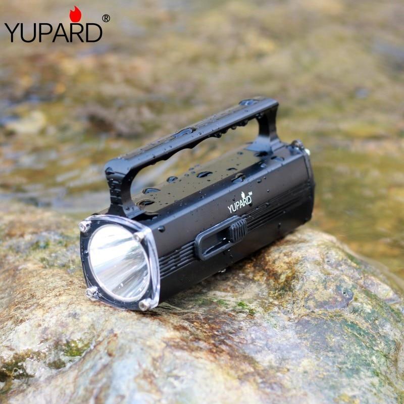 Yupard XM-L2 T6 LED amarillo linterna impermeable submarinismo antorcha buzo swiming linterna 100m foco + cargador