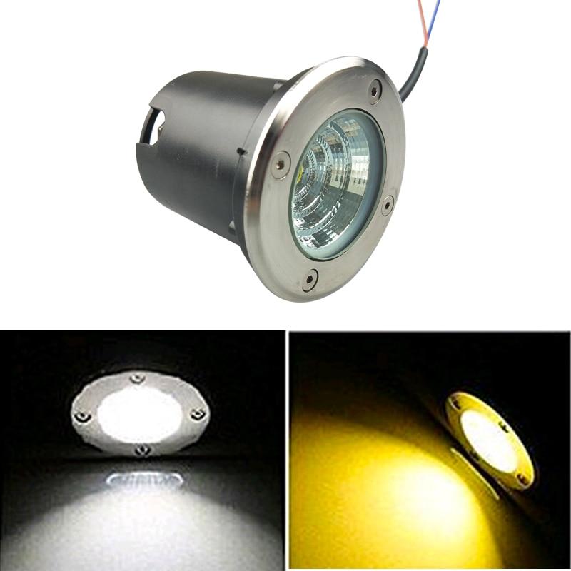 5W 10W LED Underground light COB Floor Lamp Outdoor Ground Spot Landscape Garden Square Path Buried Yard 85-265V DC12V IP68