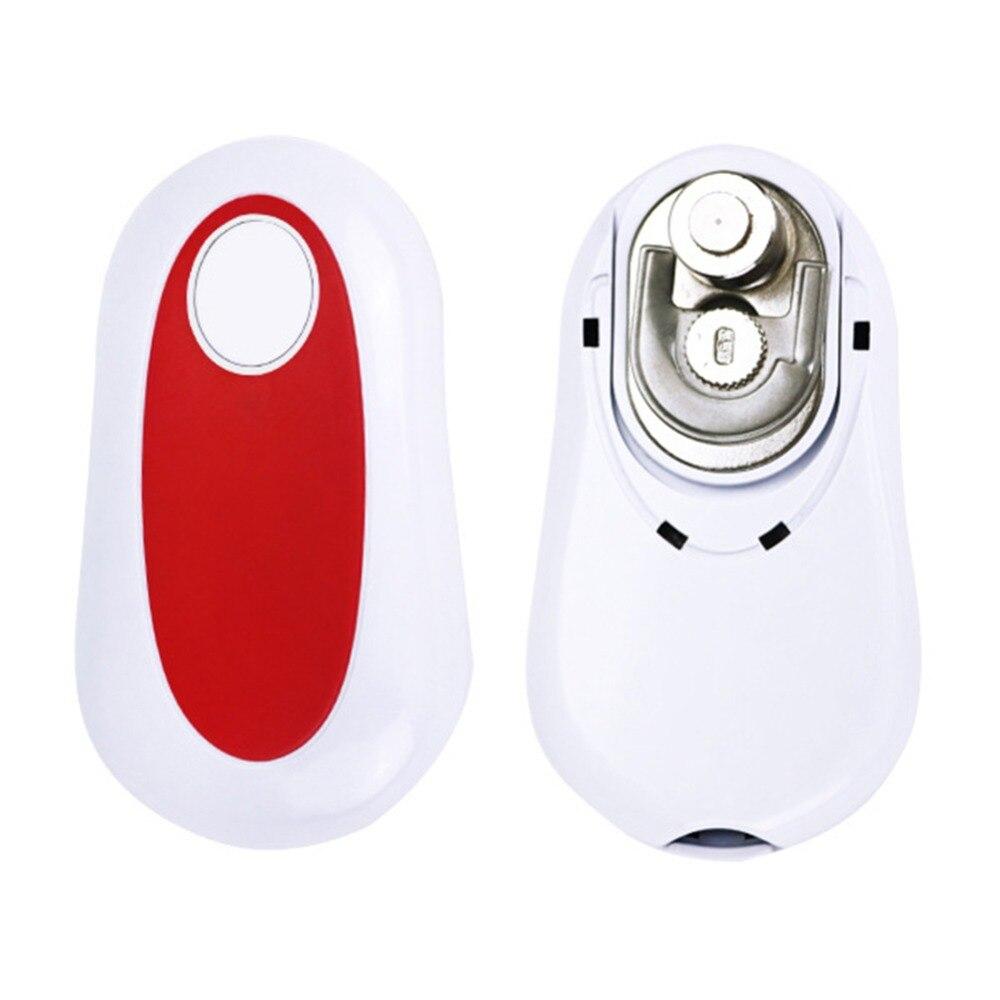 Abrelatas eléctrico de borde suave automático, abrelatas multifuncional, artículos creativos para el hogar, Abrebotellas con un solo botón
