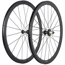 700C Straight Pull Carbon Wheels 38mm Clincher Tubular Road Bike Bicycle Wheels Powerway R51 Hub Wheelset