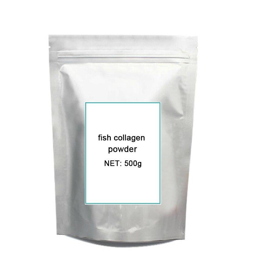 Colágeno hidrolisado de peixe food grade 500g frete grátis anti-aging e proudcts de clareamento melhor hidratante para a pele