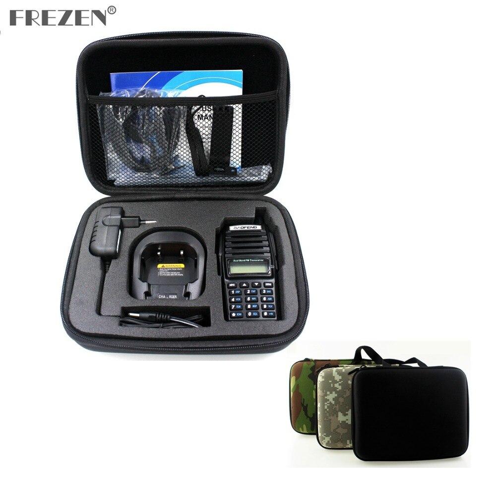 Портативный чехол для радио, портативная рация, ручная сумка для BAOFENG UV-82 UV-8D Motorola GP328, запущенный охотничий чехол, черный и Камуфляжный