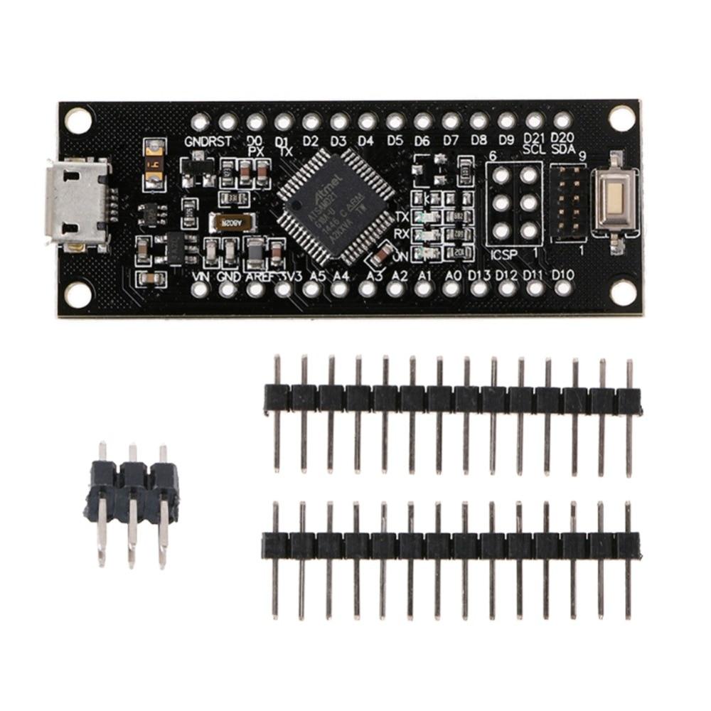 SAMD21 M0-Mini 32-битная ARM Cortex M0 основная плата для Arduino UNO Zero Форма Mini DC 5V