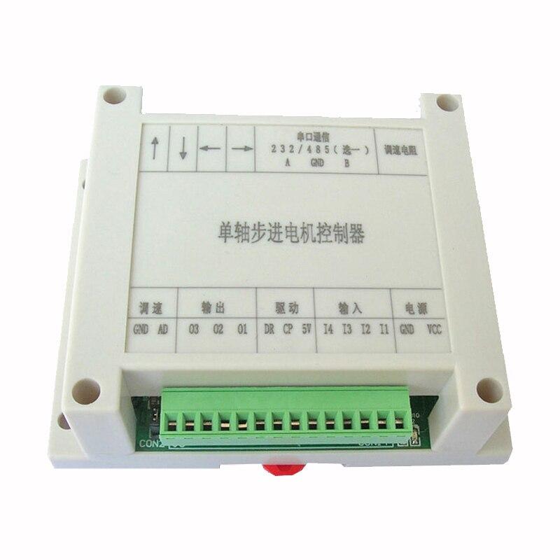 Controlador de motor paso a paso/generador de pulso/servo/potenciómetro velocidad biaxial protocolo personalizado RS-485