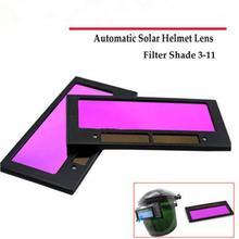 """1pc 4-1/4"""" x 2"""" Solar Auto Darkening Welding Helmet Lens Filter Shade 3-11"""