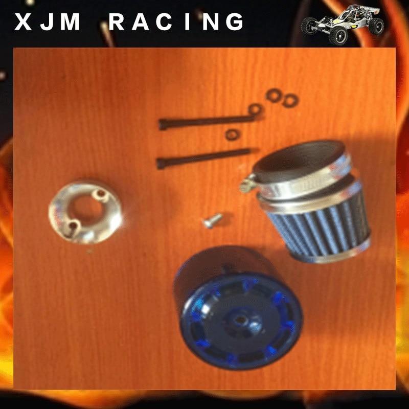 Air filter (piastic cover+base) set for 1/5 rc car hpi baja 5b/5t/5sc engines parts