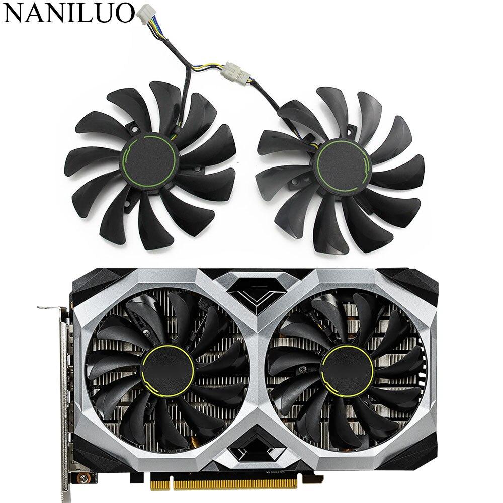 85mm HA9010H12F-Z GPU Card Cooler Fan For MSI GeForce GTX1660 GTX 1660Ti RTX 2060 VENTUS XS C Graphics Card Fan
