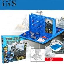 Classique Battleship jeu de stratégie jeu de société mer bataille jouet rétro série pour enfants jouet jeu jouets éducatifs pour enfants L1213