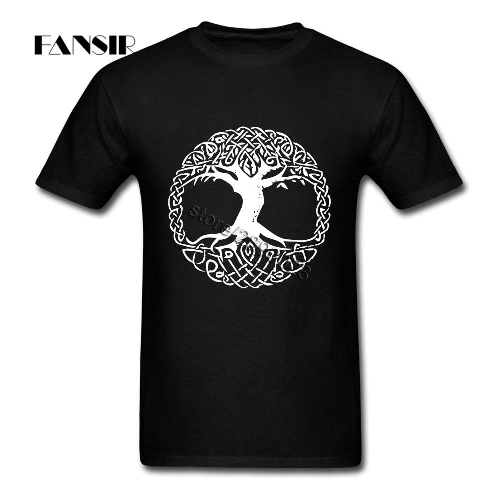 Vikings Homens Camisetas Homme Camisa Masculina Manga Curta Crewneck Algodão XS-3XL Roupas Tops Para Adolescentes