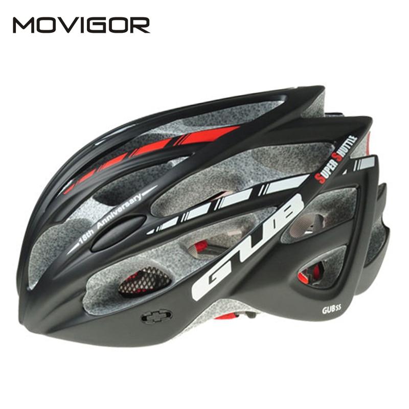 GUB-Casco profesional para Ciclismo de montaña, protección contra insectos, moldeado integralmente, 57-61CM