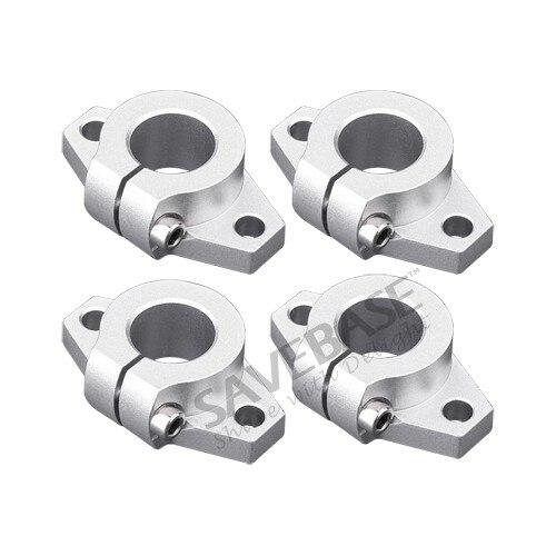 Cnc enrutador piezas Diy Shf30 barra lineal eje soporte 4 unidades eje Id = 30 Mm