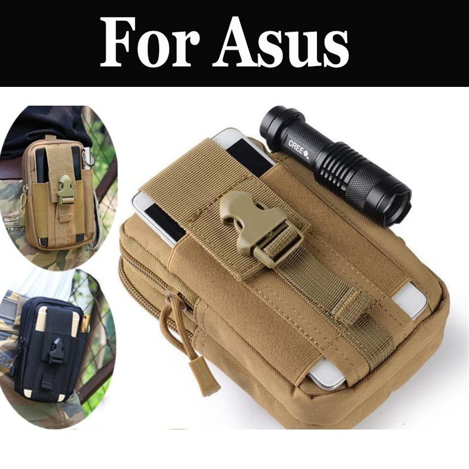 Tático Molle Bolsa Homens Belt Clip Holster Gadget Para Asus ZenFone 2 Deluxe Edição Especial 3 3 AR 3 Deluxe 3 Deluxe (ZS550KL)