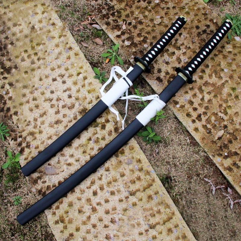 Espada de madera Okita Souji Hajime Saito Hijikata Toshizo, espada japonesa Katana, Arma de Cosplay, accesorios de Cosplay de alta calidad