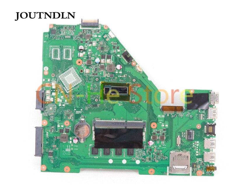 JOUTNDLN для Asus A550L A550LA R510L R510LA X550L X550LA Материнская плата ноутбука 60NB02F0-MBY000 W/i7-4500U cpu и 4G ram