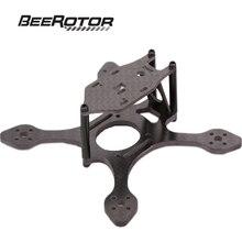 BeeRotor BeeWhoop Carbon Fiber Frame Micro FPV Racing Quadcopter Frame Kit