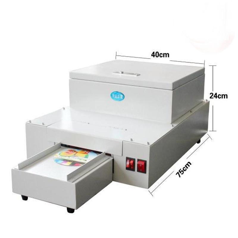 آلة طلاء سطح المكتب بالأشعة فوق البنفسجية ، CD DVD ، آلة تصفيح CD