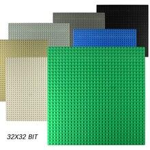 Классические точечные опорные пластины пластиковые кирпичи опорные пластины совместимые городские размеры строительные блоки строительство DIY игрушки