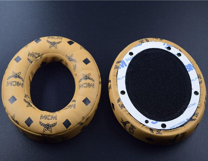 Almohadillas de reparación de almohadillas de oído de auricular Floral café para Beats de dr dre Studio 2,0 Studio 3,0 B0500 B0501 auriculares inalámbricos