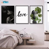 Toile dart moderne pour femmes  affiches et imprimes  filles Sexy  peinture murale  images murales pour decoration de maison