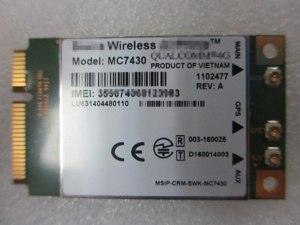 NEUE Drahtlose AirPrime MC7430 CAT6 4G LTE-FDD LTE-TDD WWAN-KARTE MINI PCIE NETZWERK KARTE