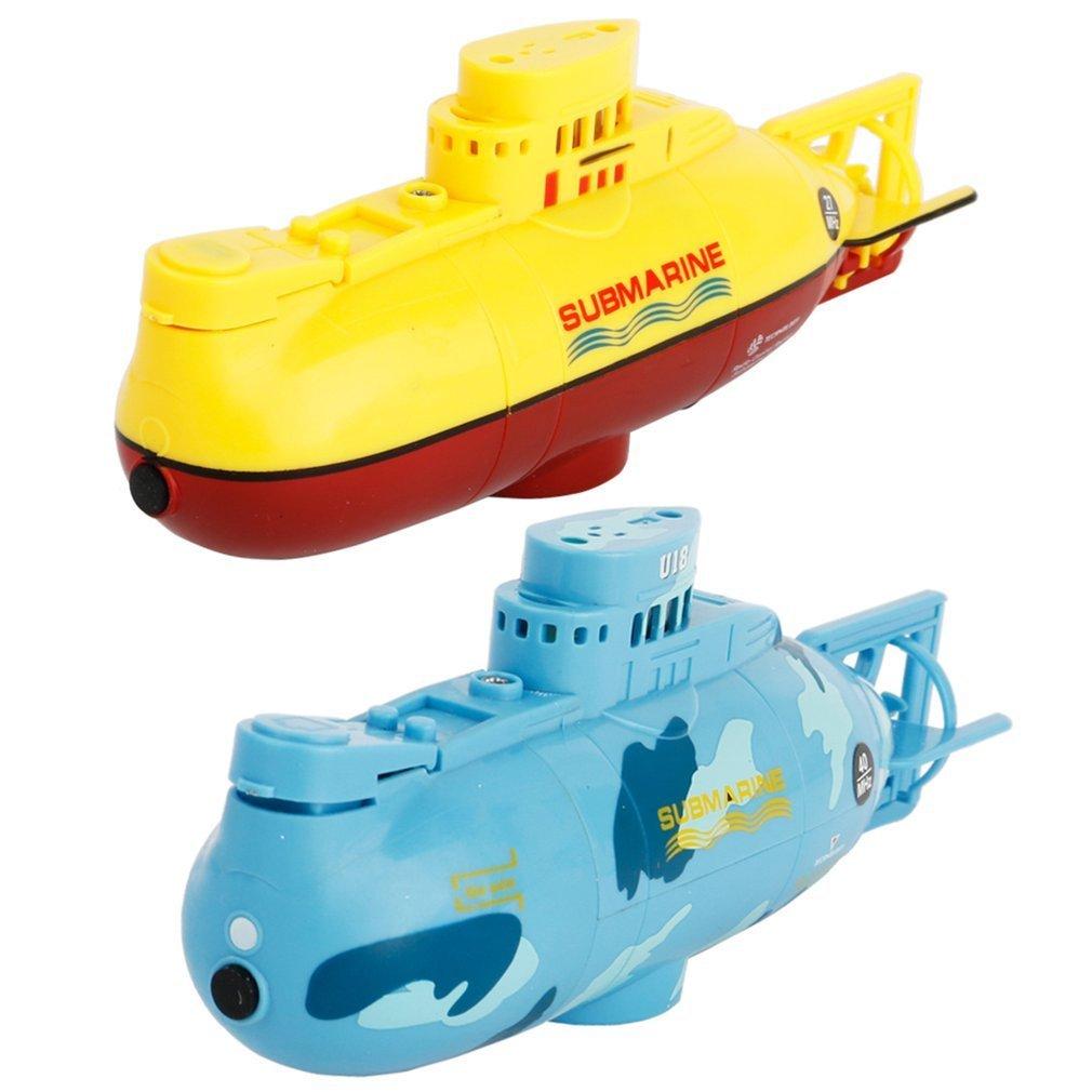 Mini submarino RC Speedboat modelo de alta potencia 3,7 V grande RC submarino juguete al aire libre con el mando a distancia