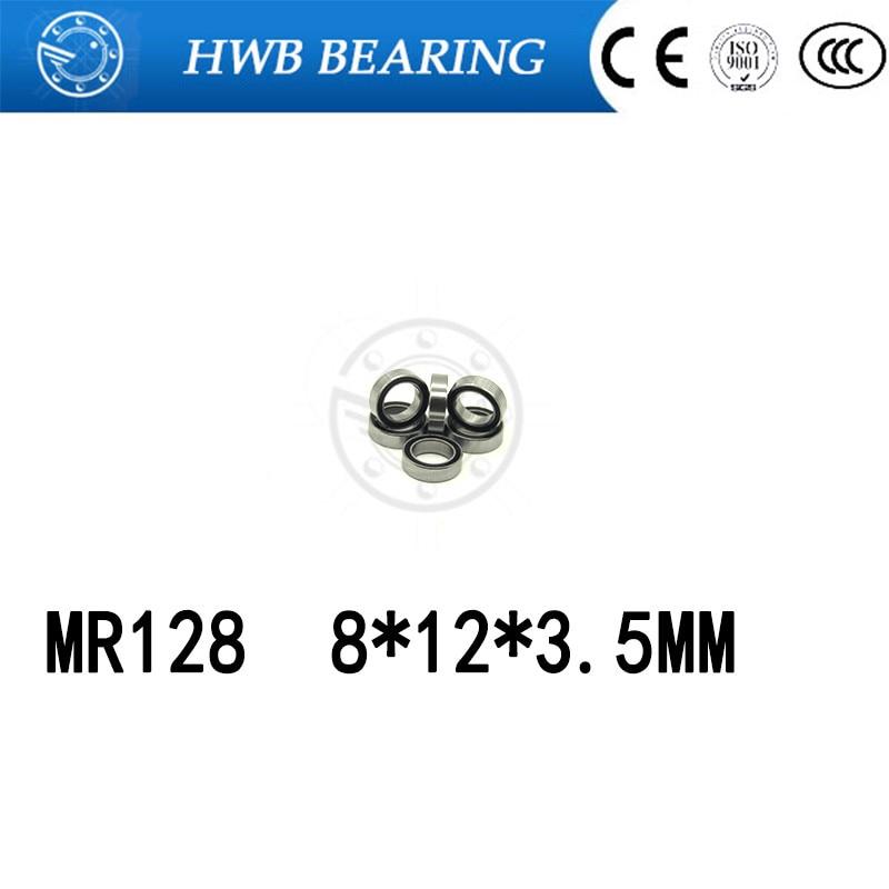 Freies Verschiffen 10 stücke MR128ZZ MR128 ZZ MR128-2Z 8X12X3,5mm Rillenkugellager Miniaturlager MR128/L-1280 ZZ