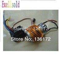 Ewellsold 1/10 R/C Auto 550 Borstel Motor + 320A 40amp Brush Esc Waterdicht WP-1040 2 Stks/set