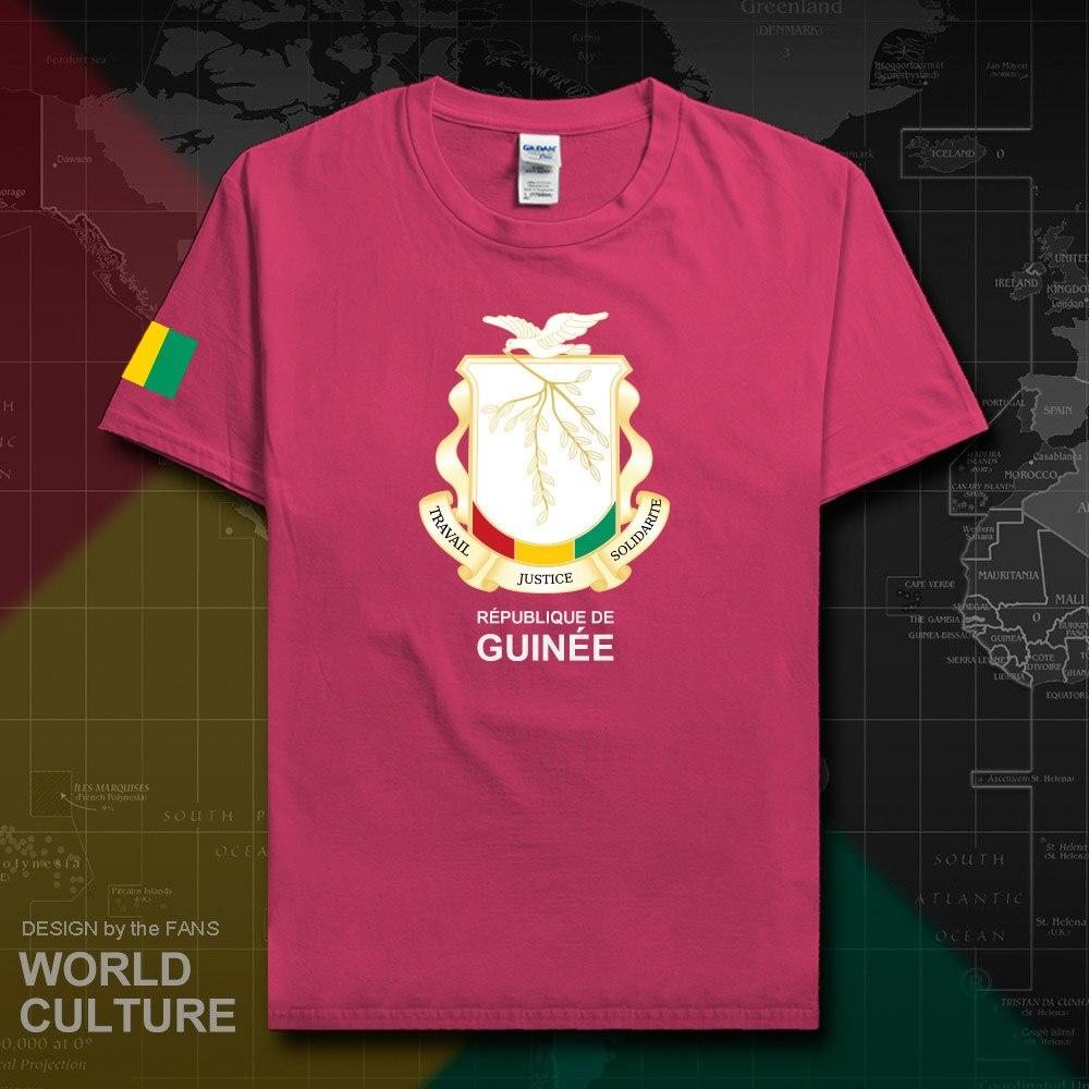 Футболка из 100% хлопка, Экваториальная Guinean Мужская футболка, мода 2018