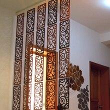 Модный подвесной экран деревянная перегородка для спальни настенная стойка для входа в гостиную украшение для дома Бесплатная доставка 6 ш...