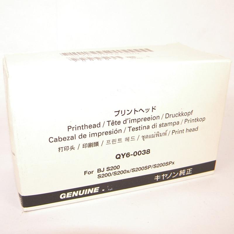 ORIGINAL NEW QY6-0038 QY6-0038-000 Printhead Print Head Printer Head for Canon BJ S200 S200x S200SP S200SPx