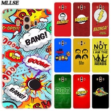 MLLSEBazinga The Big Bang Theory tv show Case for Huawei Mate S 10 20 Lite Pro Y3II Y5II Y6II Y5 Y6 2017 Y7 Prime 2018 Y9 2019
