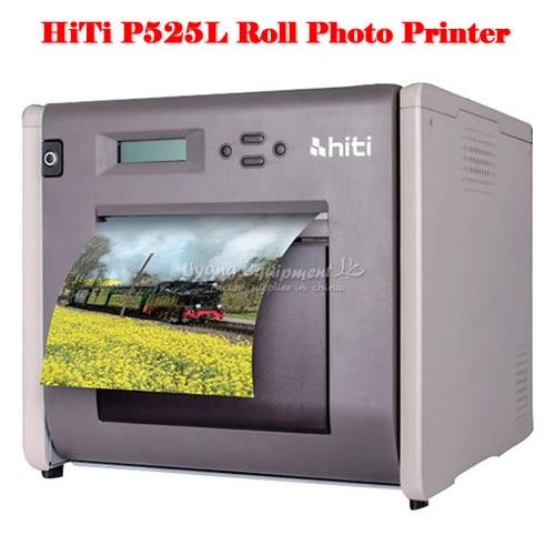 Impresora de fotos portátil HiTi P525L Roll con velocidades de impresión impresionantes