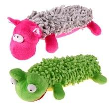 1 Pcs Pet Hond Grappige Spelen Speelgoed Kat Mooie Stem Speelgoed Sound Piepende Pluche Speelgoed Zachte Knuffel Hond Puppy speelgoed