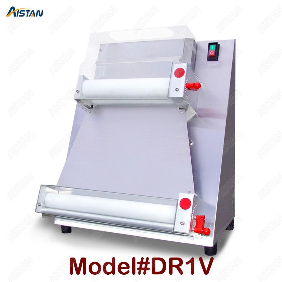 DR1V/DR1V-FP contador eléctrico acero inoxidable superior rodillo para masa de pizza máquina para pizza haciendo máquina laminadora de masa