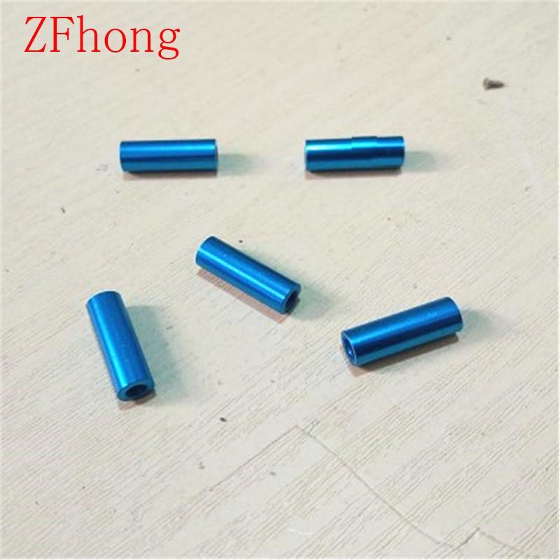 10 шт. M3 * 10/15/20/25/30/35/40/45/50 M3 резьба светло-голубой алюминиевый круглый противостоящий прокладка для RC частей