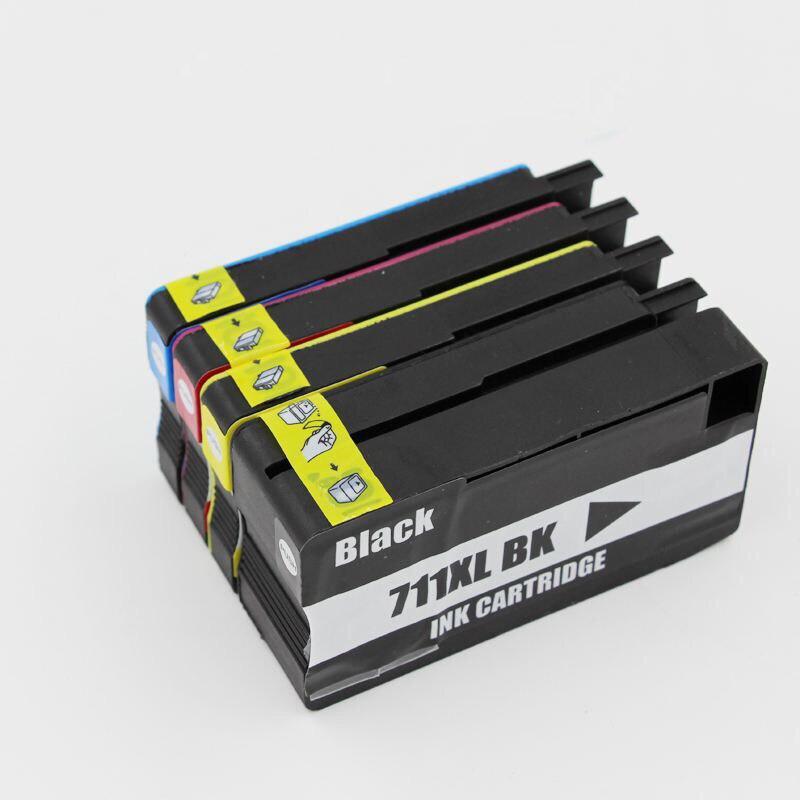 Compatível 711 711XL 711xl Substituição Do Cartucho De Tinta Para HP 711 Para HP DesignJet T120 T520 Impressora