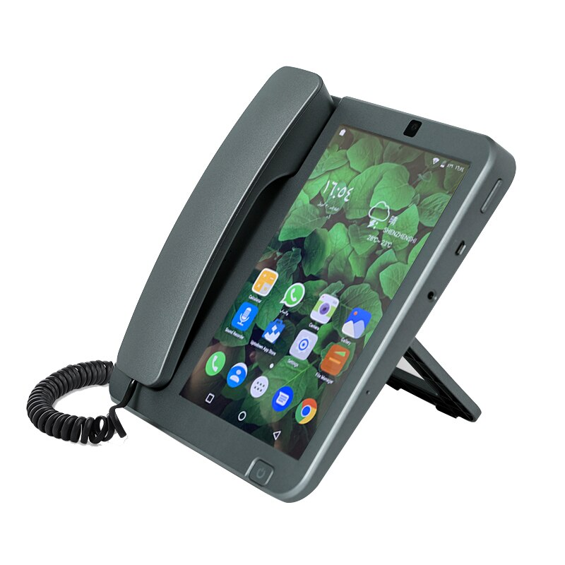 Smart Android 8.1 PSTN/4G/LAN 2G+16G Wireless Phone with RJ11/RJ45 Videophone Glob Universal Elderly WIFI Mobile Phone