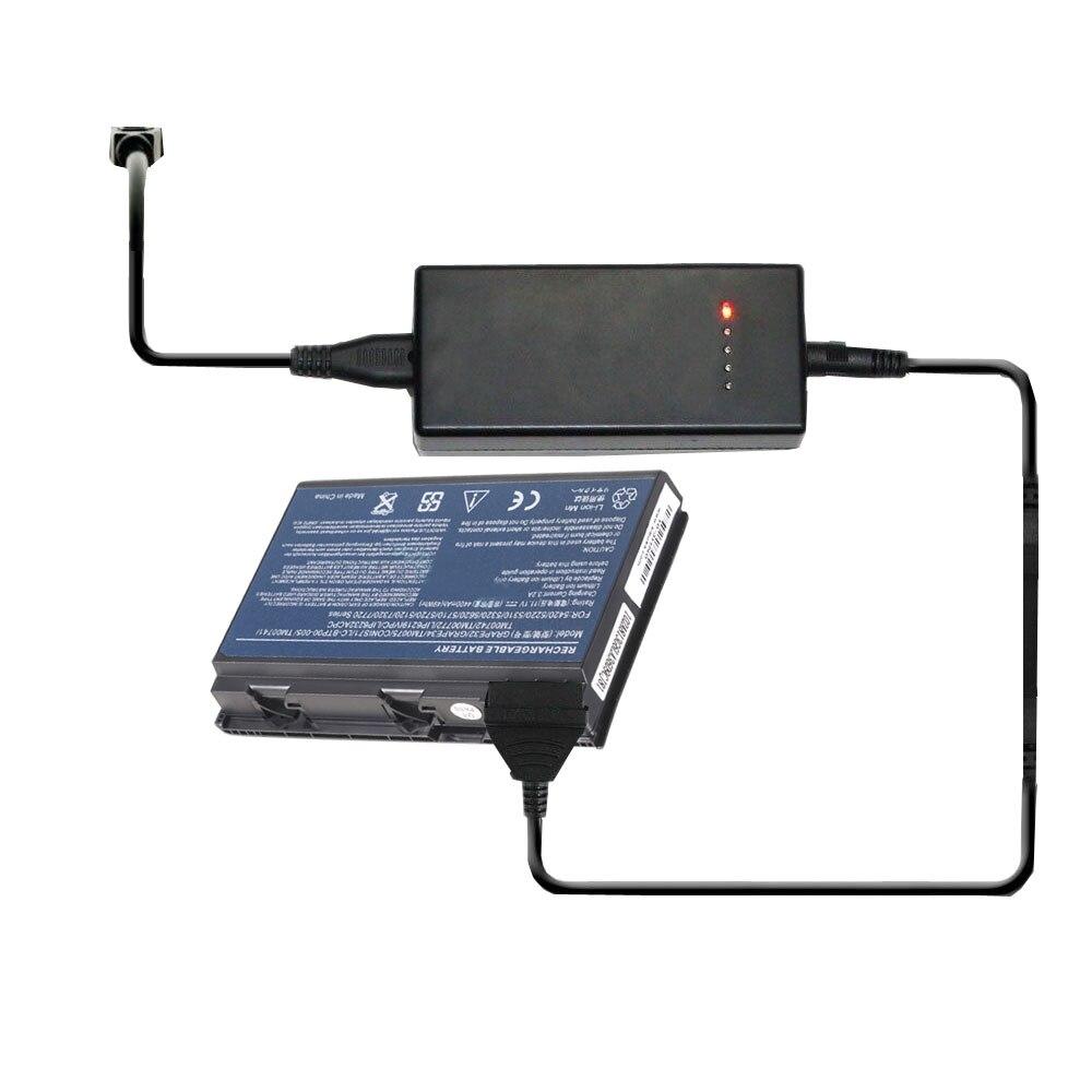 Carregador de Bateria externo Portátil para Acer CONIS72 GRAPE32 GRAPE34 BT.00803.022 BT.00804.019 BT.00805.010 BT.00807.013