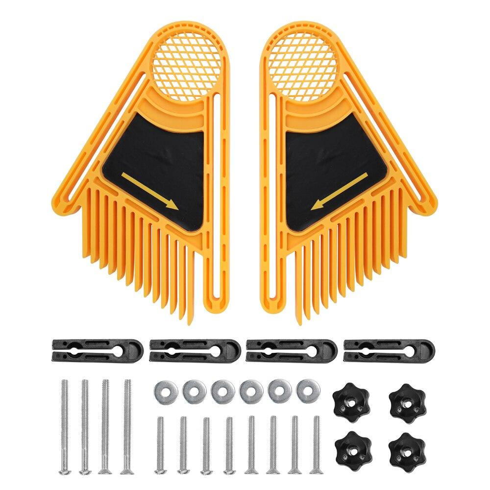 Перо Loc доска набор деревообрабатывающий гравировальный станок двойные перьевые доски торцевой манометр слот маршрутизатор настольные пилы