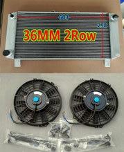 알루미늄 라디에이터 + 팬 lotus elise s3 시리즈 3 2.2l 유형 912/910/910 s turbocharged 1980-1987 수동 터보 esprit hc 81 82 8