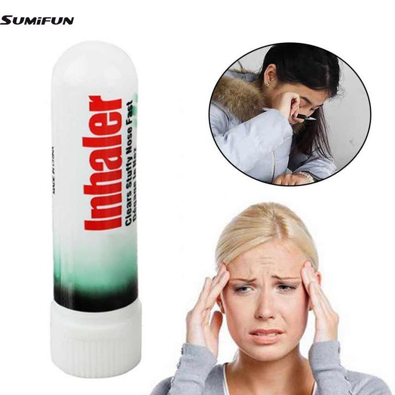 Inhalateur Nasal mieux respirer soulagement rapide de la Congestion nasale rhume rhume des foins Allergies sinuite inhalateur Nasal
