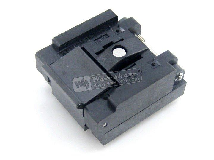 QFN24 MLP24 MLF24 QFN-24BT-0.5-01 QFN Enplas IC adaptador de programación de enchufe de 0,5mm de inclinación