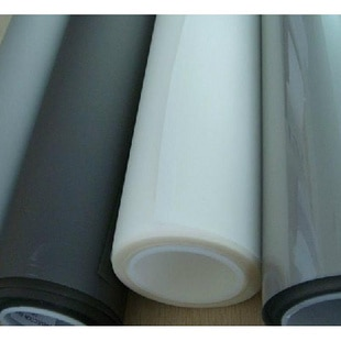 Free Shipping! 1 roll of 1.524m*30m Ultra Black rear projection film with different color A4 size samples