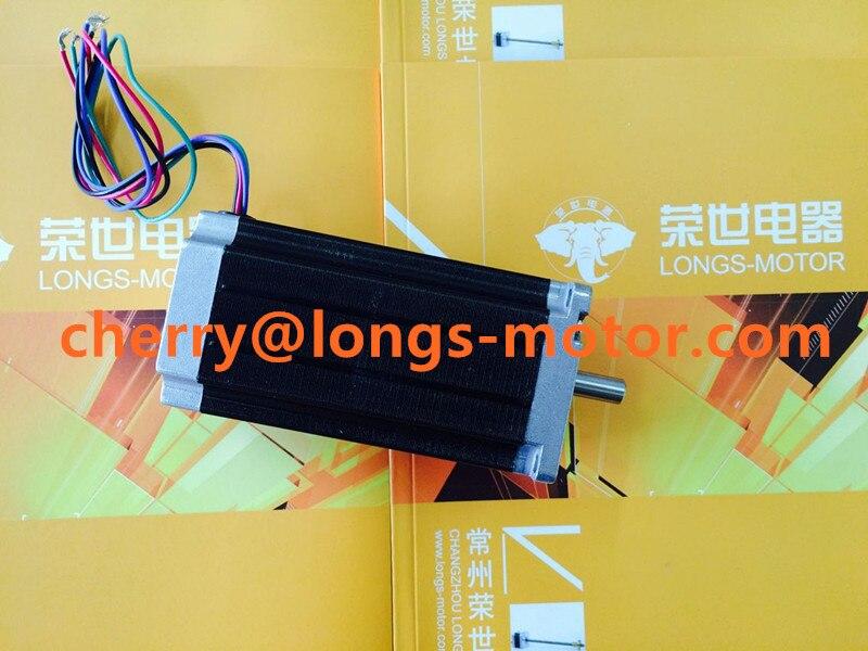 Venta caliente 1 PC Nema23 motor paso a paso 2.8NM 4.2A 4 cables CNC controlador kit láser molino grabado