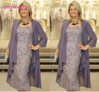 mother of the bride dresses two pieces chiffon jackets sheath lace mothers dresses for wedding events prom dresses