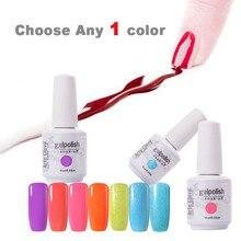 Choisir 1 Couleur de Total 220 Couleurs 15 ml Arte Clavo UV Gel Gel Ongles Tremper Hors Gel De Vernis À Ongles