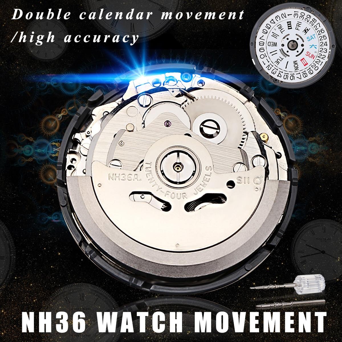 Японские Оригинальные наручные часы механические часы часовой механизм NH35 NH36 NH37 NH38 NH39 Автоматическая оптовая продажа